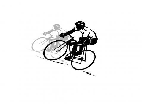 Immagine gara ciclistica